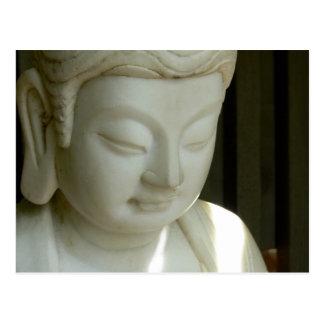 Bouddha de marbre cartes postales