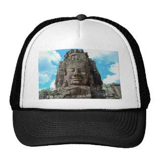 Bouddha de sourire casquettes de camionneur
