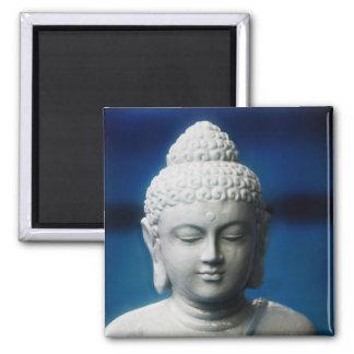 Bouddha - éclairé magnet carré