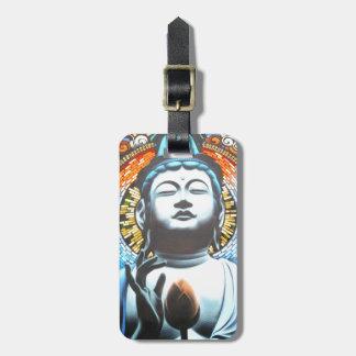 Bouddha Étiquette À Bagage