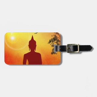 Bouddha Étiquette Pour Bagages