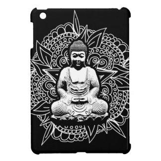 Bouddha fleuri coques pour iPad mini