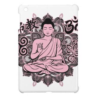 Bouddha fleuri étuis iPad mini