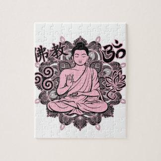 Bouddha fleuri puzzle