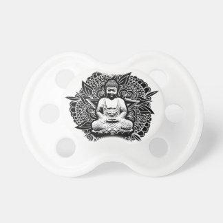 Bouddha fleuri tétine