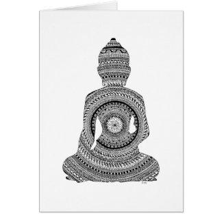 Bouddha GraphiZen Carte De Vœux