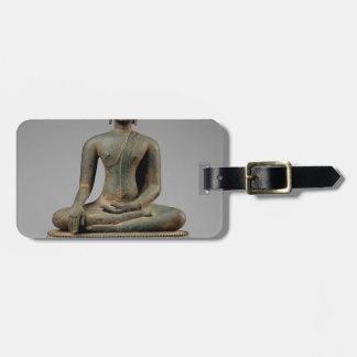 Bouddha - la Thaïlande assis Étiquette À Bagage