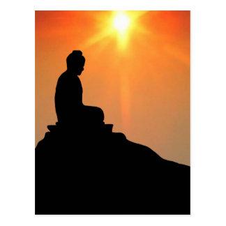 Bouddha méditant cartes postales