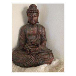 Bouddha s'asseyant cartes postales
