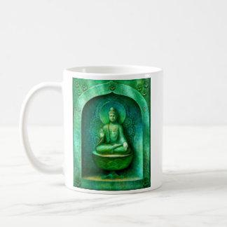 Bouddha vert mug