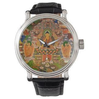 Bouddhisme bouddhiste de Bouddha bénissant le Montres Bracelet