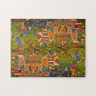 Bouddhisme bouddhiste de Bouddha bénissant le Puzzle