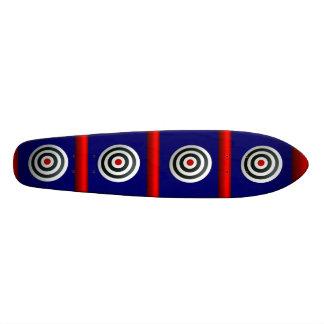 Boudine faite sur commande de cible de planche à r skateoard personnalisé
