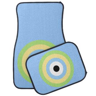 Boudine verte de combinaison tapis de sol