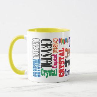 Boue en cristal de café tasses