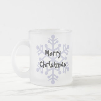 Bouffe de bouffe de Noël Tasse Givré