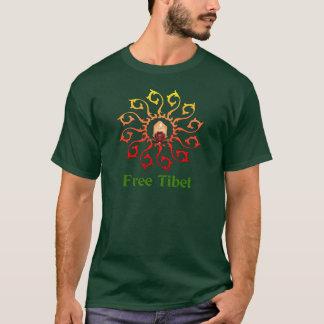 Bougie libre du Thibet T-shirt