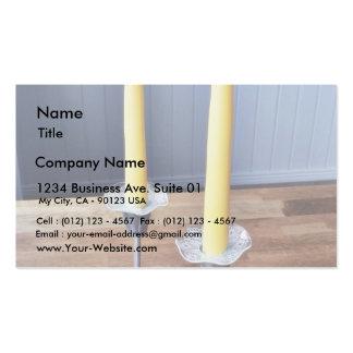 Bougies de Pâques Carte De Visite Standard