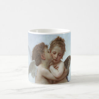 Bouguereau - belle peinture d'ange mug blanc