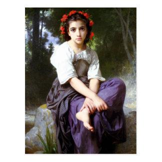 Bouguereau chez The Edge de la carte postale de
