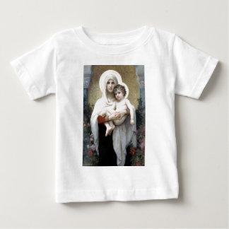 Bouguereau Madona avec la religion de T-shirts