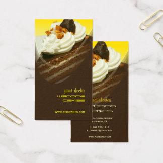 Boulangerie, cartes de visite de modèles photo de