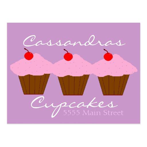 Boulangerie de petit gâteau cartes postales