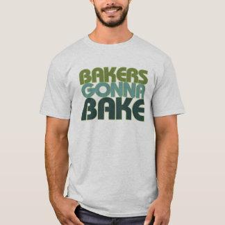 Boulangers allant faire cuire au four t-shirt