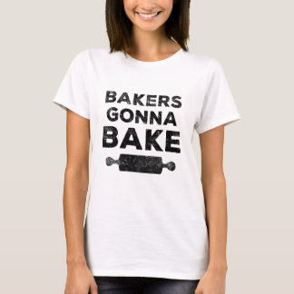 Boulangers allant faire la chemise cuire au four t-shirt
