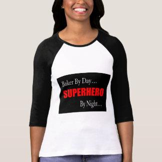 Boulangers de super héros t-shirt