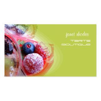 Boulangers, polices de la pâtisserie shops/DIY Carte De Visite Standard