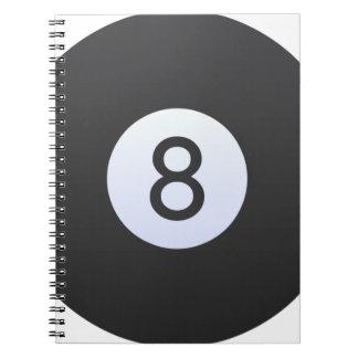Boule 8 carnet