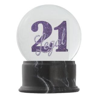 Boule À Neige 21ème Parties scintillantes juridiques de la