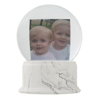 Boule À Neige Cadeau de coutume de photo de famille