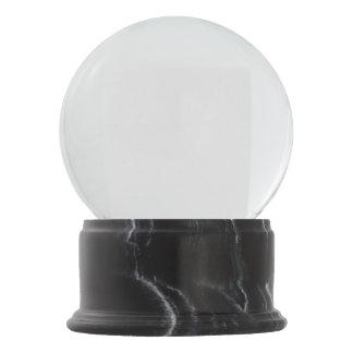 Boule À Neige Globe de marbre noir de neige de finition