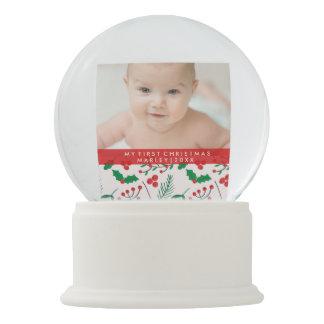 Boule À Neige Globe de neige personnalisé par Noël - joie de