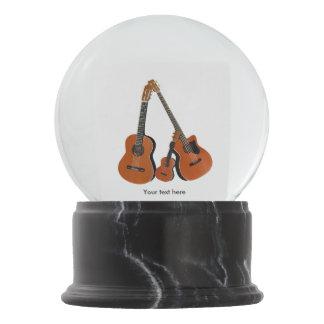 Boule À Neige Instruments acoustiques de musique folk de Counrty