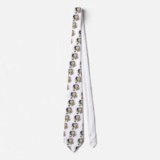 Boule argentée grunge 2 de disco cravates