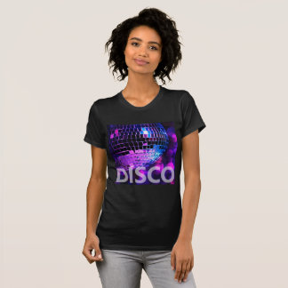 Boule brillante de disco t-shirt