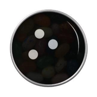 Boule de bowling boites de bonbons jelly belly