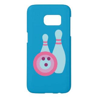 Boule de bowling et caisse des goupilles SG7 Coque Samsung Galaxy S7