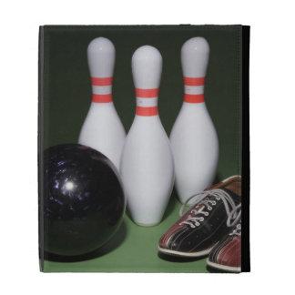 Boule de bowling étuis iPad folio