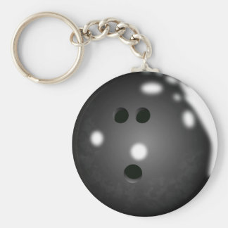 Boule de bowling Keychain Porte-clé