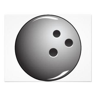 Boule de bowling pour les Jerseys de roulement Invitation