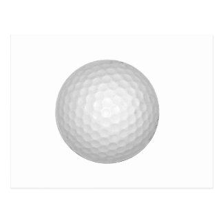 Boule de golf carte postale