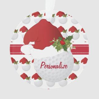 Boule de golf de Noël de sport