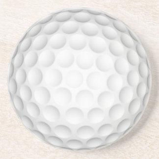 Boule de golf dessous de verres