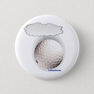 Boule de golf parlante badges