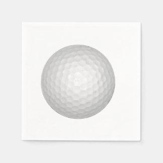 Boule de golf serviettes jetables