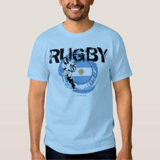 Boule de passage de T-shirt de fans de rugby de